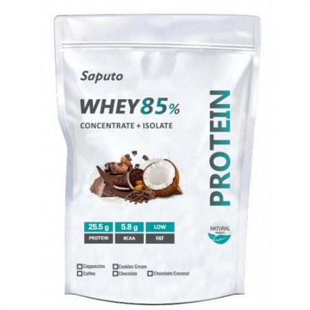 Saputo Whey Concentrate + Isolate 85%, 900 грамм