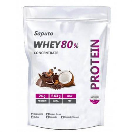 Saputo Whey Concentrate 80%, 900 грамм