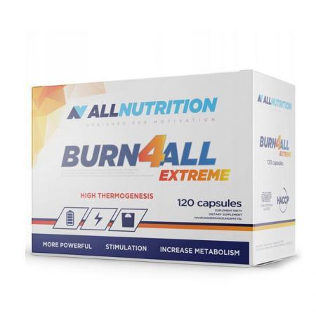 AllNutrition Burn4all Extreme, 120 капсул