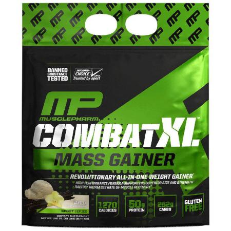 MusclePharm Combat XL Mass Gainer, 5.44 кг