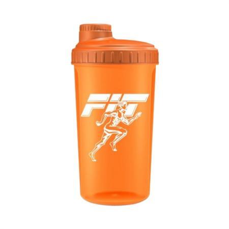 Шейкер Fit MY Drink, 700 мл - оранжевый неон