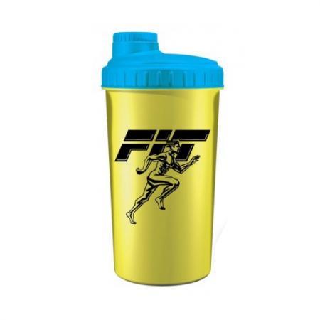 Шейкер Fit MY Drink, 700 мл - желто-голубой цвет