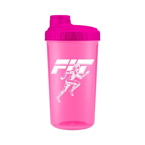 купить шейкер Fit My Drink цвет корпуса розовый неон