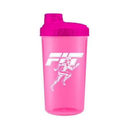 Шейкер Fit MY Drink, 700 мл - розовый неон цвет