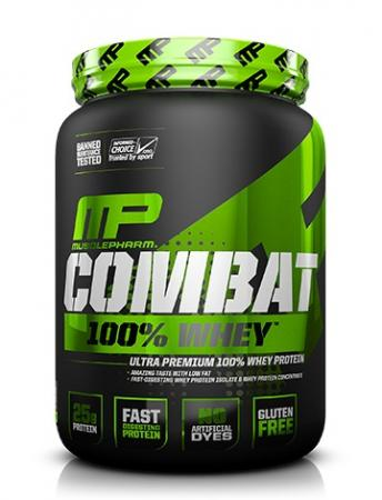 MusclePharm Combat 100% Whey, 900 грамм