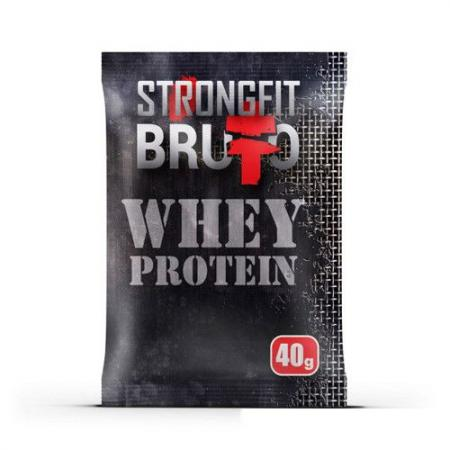Strong Fit Bruto Whey Protein, 40 грамм