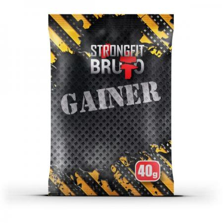 Strong Fit Gainer, 40 грам - тропічний мікс