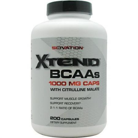 Scivation Bcaa Xtend, 200 капсул