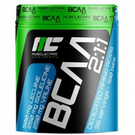 Muscle Care BCAA 2-1-1, 180 таблеток