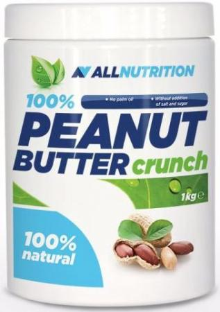 AllNutrition 100% Peanut Butter Crunch, 1 кг