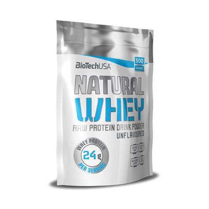 BioTech Natural Whey, 500 грамм - без вкуса