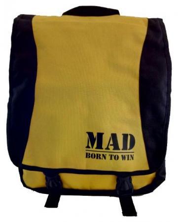 Сумка-рюкзак женская MAD PACE - желтая
