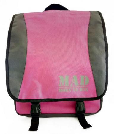 Сумка-рюкзак женская MAD PACE - розовая