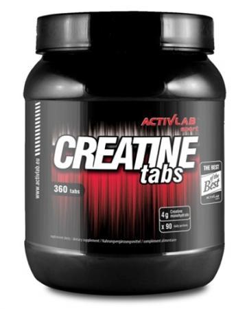 ActivlLab Creatine Tabs, 360 таблеток