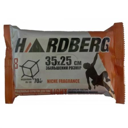 Салфетки HARDBERG 8шт 35х25см - аромат Oud Diamond