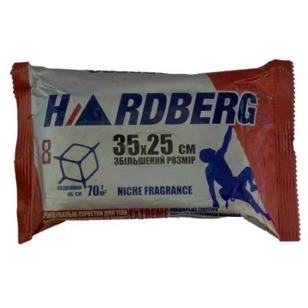Салфетки HARDBERG Extreme 8шт 35х25см - аромат Cadix