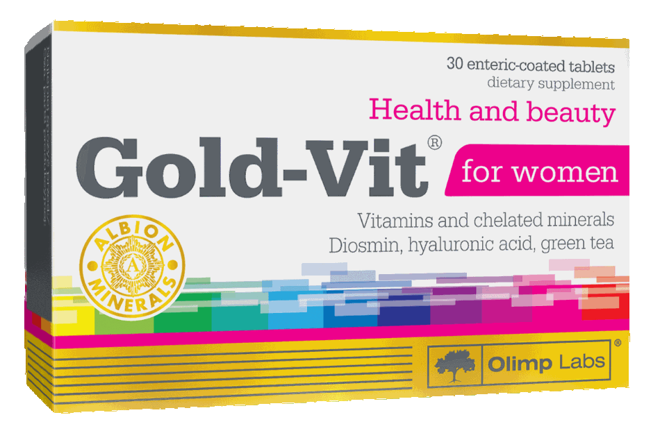 Olimp Gold Vit for Women, 30 капсул