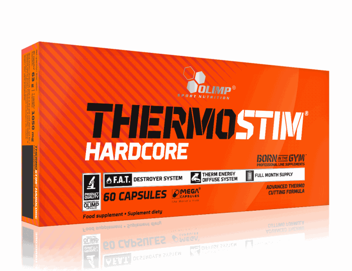 Olimp Thermo Stim Hardcore, 60 капсул