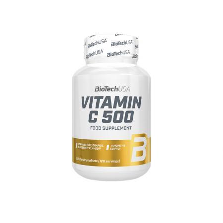 BioTech Vitamin C 500, 120 таблеток