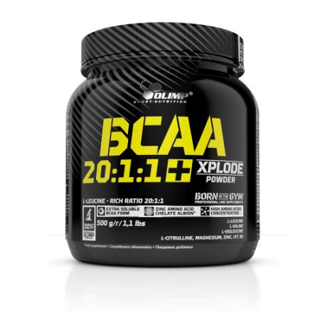 Olimp BCAA 20:1:1 Xplode, 500 грам