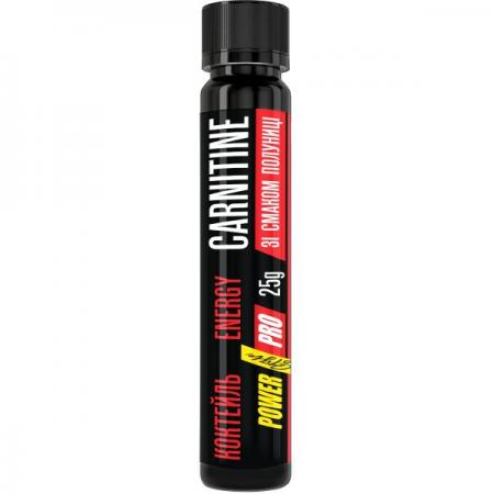 Power Pro Carnitine Energy Shot, 25 мл - клубника