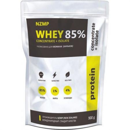 NZMP Whey Concentrate + Isolate 85%, 900 грам
