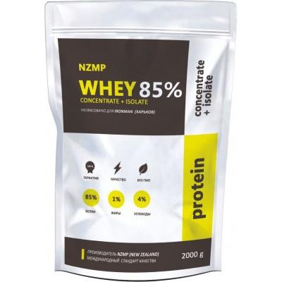 NZMP Whey Concentrate + Isolate 85%, 2 кг