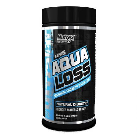 Nutrex Research Lipo-6 Aqua Loss, 80 капсул