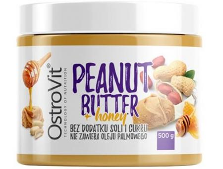 OstroVit Peanut Butter + Honey, 500 грамм