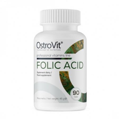 OstroVit Folic Acid, 90 таблеток