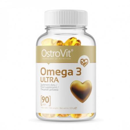 OstroVit Omega 3 Ultra, 90 капсул