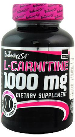 BioTech L-Carnitine 1000 мг, 30 таблеток