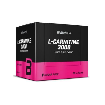 BioTech L-Carnitine 3000, 20 ампул/уп-ампула