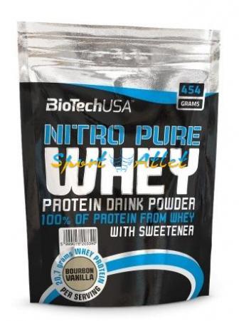 BioTech Nitro Pure Whey Gold, 454 грамма