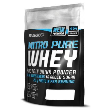 BioTech Nitro Pure Whey, 454 грамма