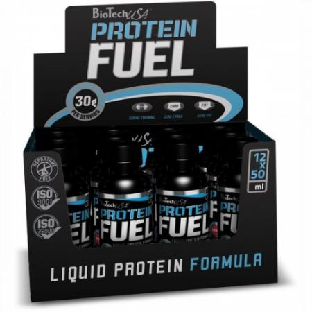 BioTech Protein Fuel, 12 ампул/уп-ампула