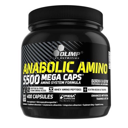 Olimp Anabolic Amino 5500 Mega Caps, 400 капсул