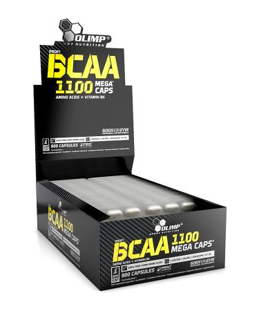 Olimp BCAA 1100 Mega Caps, 900 капсул