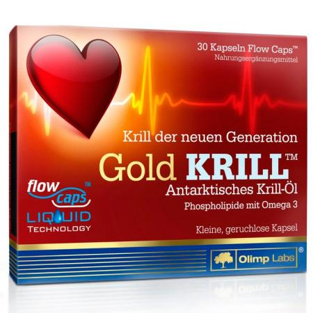 Olimp Gold Krill, 30 капсул