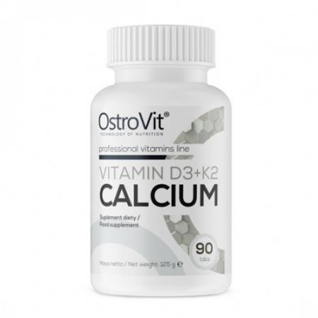 OstroVit Vitamin D3+K2 Calcium, 90 таблеток