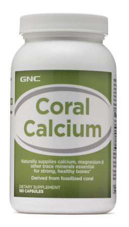 GNC Coral Calcium, 180 капсул