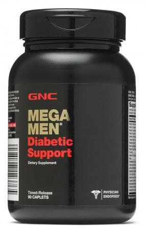 GNC Mega Men Diabetic Support, 90 каплет
