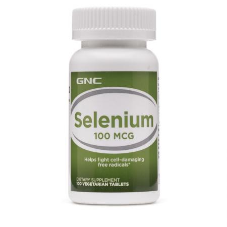 GNC Selenium 100 mcg, 100 таблеток