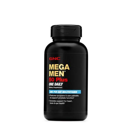 GNC Mega Men 50 Plus One Daily, 60 каплет