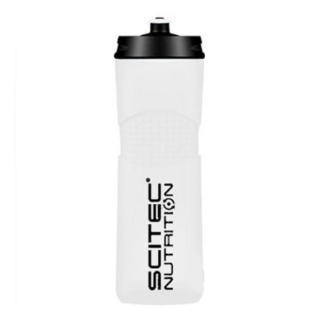 Scitec Bidon Bike Bottle, 650 мл - белая