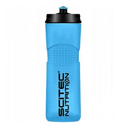 Scitec Bidon Bike Bottle, 650 мл - голубая