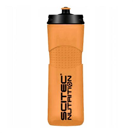 Scitec Bidon Bike Bottle, 650 мл - оранжевая