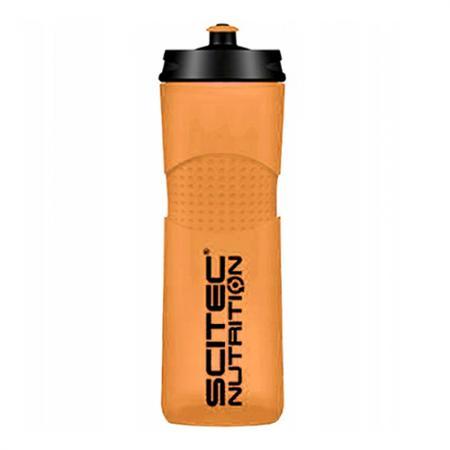 Scitec Bidon Bike Bottle, 650 мл - оранжевая