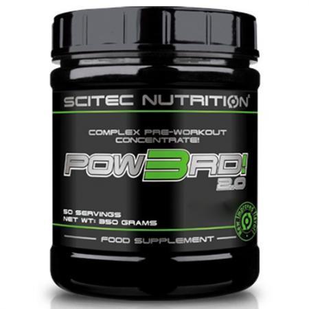 Scitec POW3RD 2.0, 350 грамм