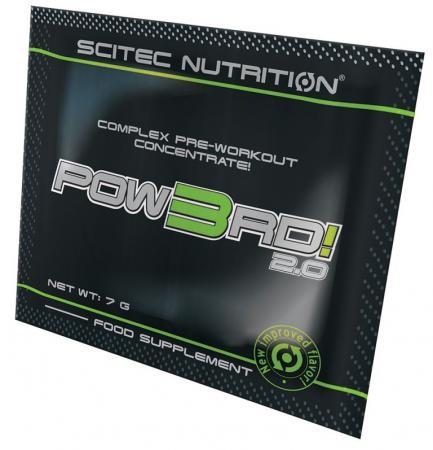 Scitec POW3RD 2.0, 7 грамм